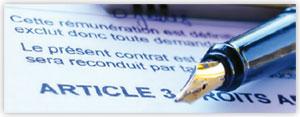 Conditions générales et particulières du contrat